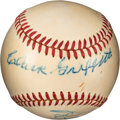 Baseball Collectibles:Balls, Early 1950's Clark Griffith Signed Baseball....