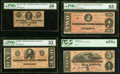 Confederate Notes:1864 Issues, T69 $5 1864 PF-9 Cr. 563 PCGS Gem New 66PPQ;. T70 $2 1864 PF-1 Cr. 569 PMG Choice Uncirculated 63 EPQ;. T71 $1 1864 PF... (Total: 4 notes)