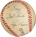 Autographs:Baseballs, 1960's Roger Maris Single Signed & Inscribed Baseball....