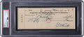 Autographs:Checks, 1938 Babe Ruth Signed Check, PSA/DNA Authentic. ...