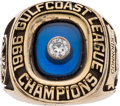 Baseball Collectibles:Others, 1996 Gulf Coast League Championship Ring....