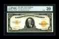Large Size:Gold Certificates, Fr. 1173a $10 1922 Mule Gold Certificate PMG Very Fine 20....