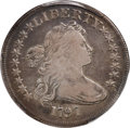 Early Dollars, 1797 $1 9x7 Stars, Large Letters, B-1, BB-73, R.3, Fine 15 PCGS....