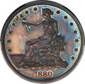 Proof Trade Dollars, 1880 T$1 PR64 PCGS. CAC....