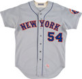 Baseball Collectibles:Uniforms, 1972 Rube Walker Game Worn New York Mets Jersey....