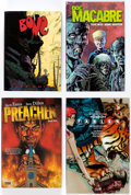 Books:General, Comic Related Autographed Trade Collections Group of 4 (Various Publishers).... (Total: 4 Items)