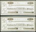 Arizona Paper Items 188_-1918 Eleven Examples Very Fine or Better