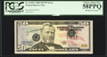 Error Notes:Shifted Third Printing, Fr. 2128-G $50 2004 Federal Reserve Note. PCGS Choice About New 58PPQ.. ...