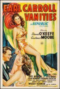 """Movie Posters:Musical, Earl Carroll Vanities (Republic, 1945). Fine/Very Fine on Linen. One Sheet (27"""" X 41""""). Musical. From the Collection of Fr..."""