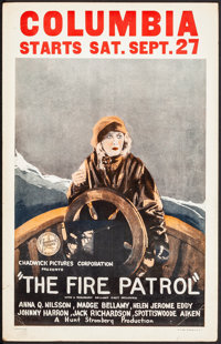 """The Fire Patrol (Chadwick Pictures, 1924). Fine/Very Fine. Window Card (14"""" X 22""""). Drama. From the Collection..."""