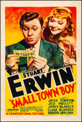 "Movie Posters:Comedy, Small Town Boy (Grand National, 1937). Fine+ on Linen. One Sheet (27"" X 41""). Comedy. From the Collection of Frank Buxton,..."