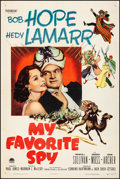 """Movie Posters:Comedy, My Favorite Spy (Paramount, 1951). Fine/Very Fine on Linen. One Sheet (27"""" X 41""""). Comedy. From the Collection of Frank Bu..."""