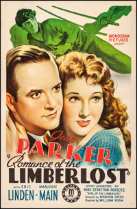 """Romance of the Limberlost (Monogram, 1938). Fine+ on Linen. One Sheet (27"""" X 41""""). Drama. From the Collection..."""