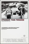 "Movie Posters:Drama, Stranger Than Paradise (Samuel Goldwyn, 1984). Rolled, Very Fine-. One Sheet (27"" X 41""). Drama.. ..."