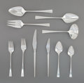 Silver Flatware, American, A Fifty-Piece Reed & Barton Dimension Pattern SilverFlatware Service, Taunton, Massachusetts, 1961-2005. Marks:...(Total: 51 Items)
