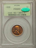 Proof Lincoln Cents: , 1939 1C PR66 Red PCGS. CAC. PCGS Population: (377/61). NGC Census: (168/32). CDN: $225 Whsle. Bid for problem-free NGC/PCGS...