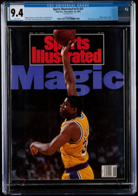 1991 Magic Johnson Sports Illustrated - CGC 9.4, Pop One with None Higher