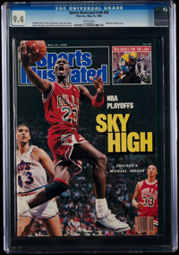 1988 Michael Jordan Sports Illustrated - CGC 9.4, Pop One with None Higher