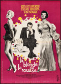 """Movie Posters:Musical, Pal Joey (Columbia, 1958). Folded, Very Fine-. French Moyenne (22""""X 30.25""""). Musical.. ..."""