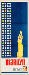 "Movie Posters:Documentary, Marilyn (20th Century Fox, 1963). Rolled, Very Fine-. Insert (14"" X 36""). Documentary.. ..."