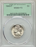 Jefferson Nickels, 1943-P 5C MS66+ Full Steps PCGS. PCGS Population: (690/102 and 24/13+). NGC Census: (323/67 and 2/2+). CDN: $60 Whsle. Bid ...