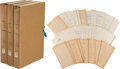 Military & Patriotic:WWII, United States vs. Yamashita Court Documents, 18 Volumes.... (Total: 18 Items)