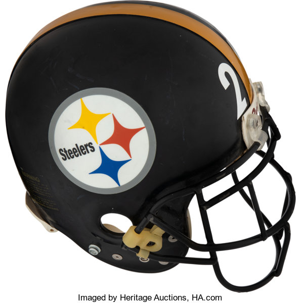 af17d2175 Football Collectibles:Helmets, Mid 1990's Rod Woodson Game Worn Pittsburgh  Steelers Helme.