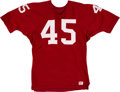 Football Collectibles:Uniforms, 1967 Bobby Williams Game Worn St. Louis Cardinals Jersey....
