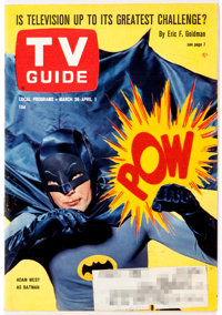 TV Guide V14#18 Adam West as Batman Cover (TV Guide Magazine Group, Inc., 1966) Condition: Apparent VF/NM