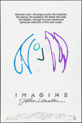 """Movie Posters:Rock and Roll, Imagine: John Lennon (Warner Brothers, 1988). Rolled, Very Fine. One Sheet (27"""" X 40.5"""") SS Purple/Blue Style. John Lennon A..."""