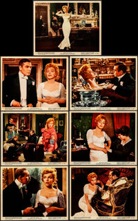 """The Prince and the Showgirl (Warner Brothers, 1957). Very Fine-. Color Photos (7) (8"""" X 10""""). Romance. ... (To..."""