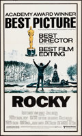 """Movie Posters:Academy Award Winners, Rocky & Other Lot (Topps, 1981). Folded, Very Fine-. Mini Posters (2) (12"""" X 20""""). Academy Award Winners.. ... (Total: 2 Items)"""