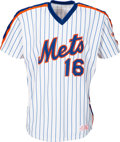 Baseball Collectibles:Uniforms, 1986 Dwight Gooden Game Worn New York Mets Jersey. ...