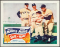 "Movie Posters:Sports, Safe at Home (Columbia, 1962). Very Fine. Lobby Card (11"" X 14""). Sports.. ..."
