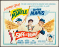 "Movie Posters:Sports, Safe at Home (Columbia, 1962). Very Fine. Title Lobby Card (11"" X 14""). Sports.. ..."