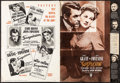 "Movie Posters:Hitchcock, Suspicion (RKO, 1941). Fine+. Cut Pressbook (20 Pages, 13"" X 18""). Hitchcock.. ..."