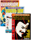 Magazines:Superhero, Warrior (magazine) Group of 22 (Quality Communications Ltd.,1982-85) Condition: Average FN.... (Total: 22 Items)