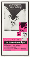 """Movie Posters:Crime, The Thomas Crown Affair (United Artists, 1968). Folded, Very Fine-. Three Sheet (41"""" X 78.75""""). Crime.. ..."""