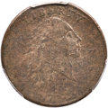 Large Cents, 1793 1C Chain, AMERICA, S-2, B-2, High R.4, Fine 12 PCGS....