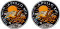 Explorers:Space Exploration, Apollo 13 Flown Embroidered Mission Insignia Patches (Two) Originally from the Personal Collection of Mission Command Module P... (Total: 2 Items)