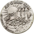 Explorers:Space Exploration, Apollo 13 Flown Silver Robbins Medallion, Serial Number 206, Originally from the Personal Collection of Mission Command Module...
