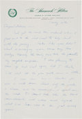 """Explorers:Space Exploration, Neil Armstrong Autograph Letter Signed """"Tex"""" to His Brother Dean, October 1962, Directly from Dean Armstrong's Per..."""