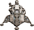 Explorers:Space Exploration, Apollo 9 Flown Lunar Module Emblem Charm Directly from the Personal Collection of Mission Lunar Module Pilot Rusty Schweickart...
