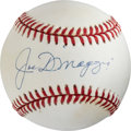 Autographs:Baseballs, Circa 1995 Joe DiMaggio Single Signed Baseball....