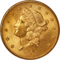 Liberty Double Eagles, 1904 $20 MS65 NGC. CAC....