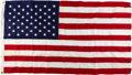 Explorers:Space Exploration, Neil Armstrong's Personal U.S. Flag Flown Over the U.S. Capitol on July 20, 1969 With the Original Box and Typed Letters Direc...