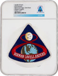 Explorers:Space Exploration, Apollo 8: Neil Armstrong's Personally-Owned Lion Brothers Embroidered Mission Insignia Patch Directly From The Armstrong F...
