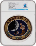 Explorers:Space Exploration, Apollo 14: Neil Armstrong's Personally-Owned Lion Brothers Hallmarked Embroidered Mission Insignia Patch Directly From The...
