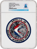 Explorers:Space Exploration, Apollo 15: Neil Armstrong's Personally-Owned Lion Brothers Hallmarked Embroidered Mission Insignia Patch Directly From The...