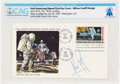 "Explorers:Space Exploration, Neil Armstrong Signed ""First Man On The Moon"" Official MSC Stamp Club First Day Cover Directly From The Armstrong Family Colle..."
